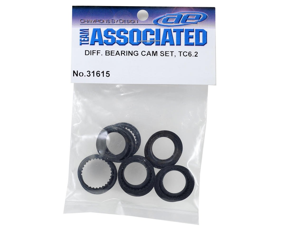 Team Associated TC6.2 Differential Bearing Cam Set