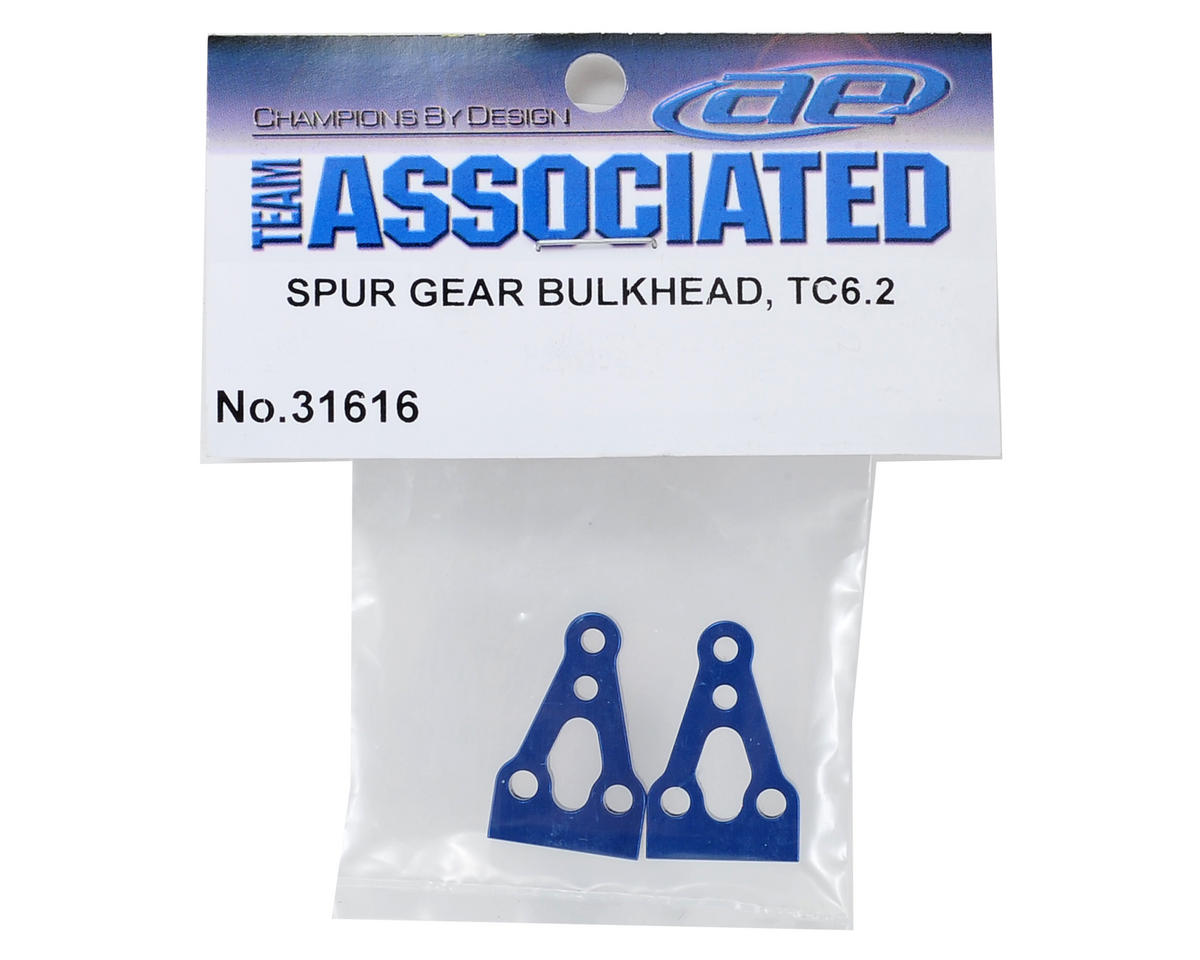 Team Associated TC6.2 Spur Gear Bulkhead