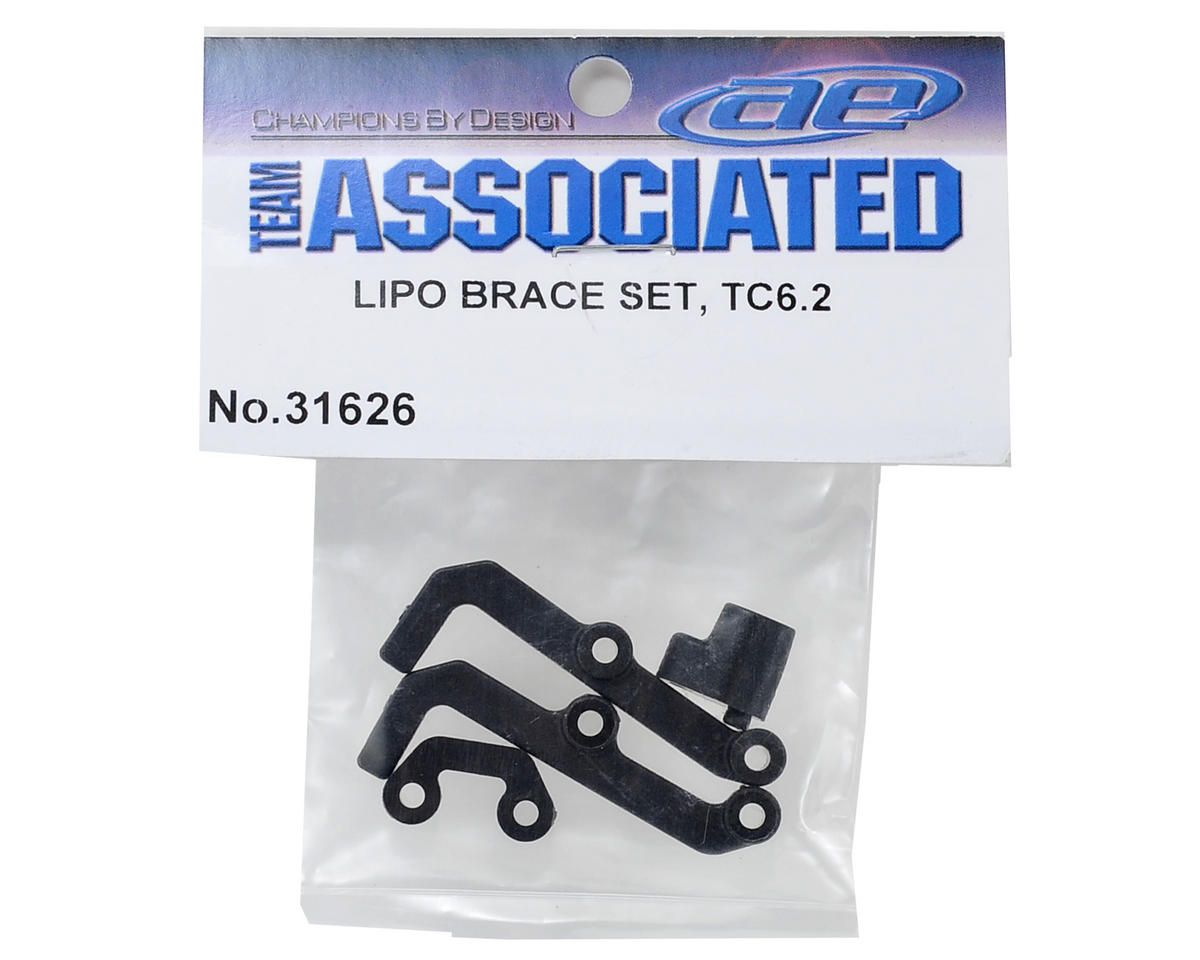 Team Associated TC6.2 LiPo Brace Set