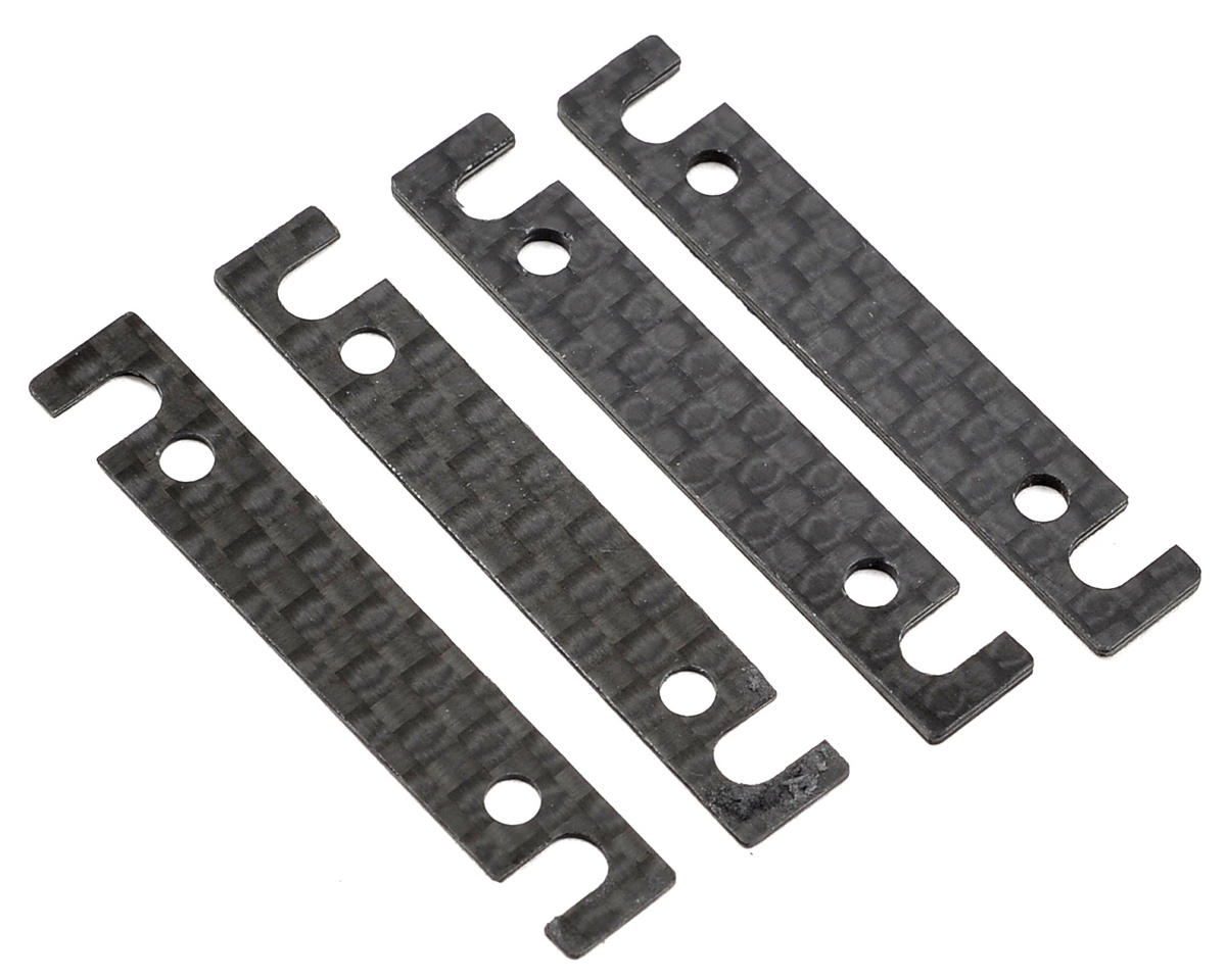 TC6.2 Outer Arm Mount Shim Set (4) (1mm/0.5mm) by Team Associated
