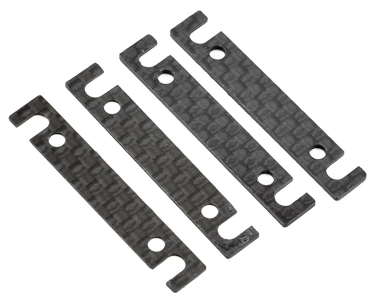 Team Associated TC6.2 Outer Arm Mount Shim Set (4) (1mm/0.5mm)