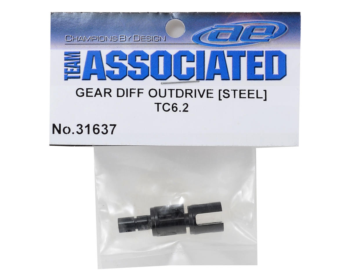 TC6.2 Steel Gear Differential Outdrive by Team Associated