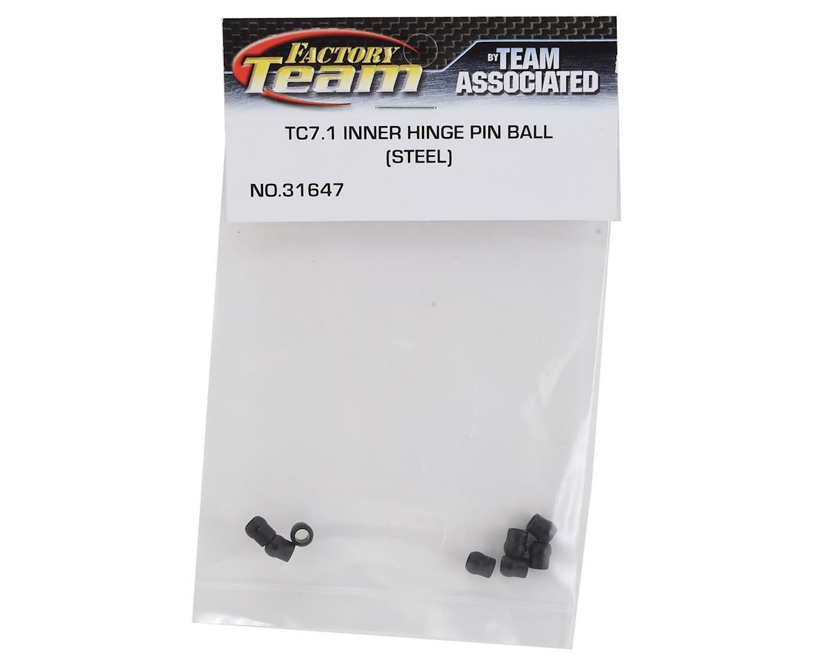 Team Associated TC7.1 Factory Team Steel Inner Hinge Pin Balls (8)