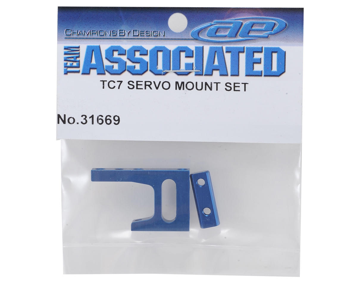 Team Associated TC7 Servo Mount Set