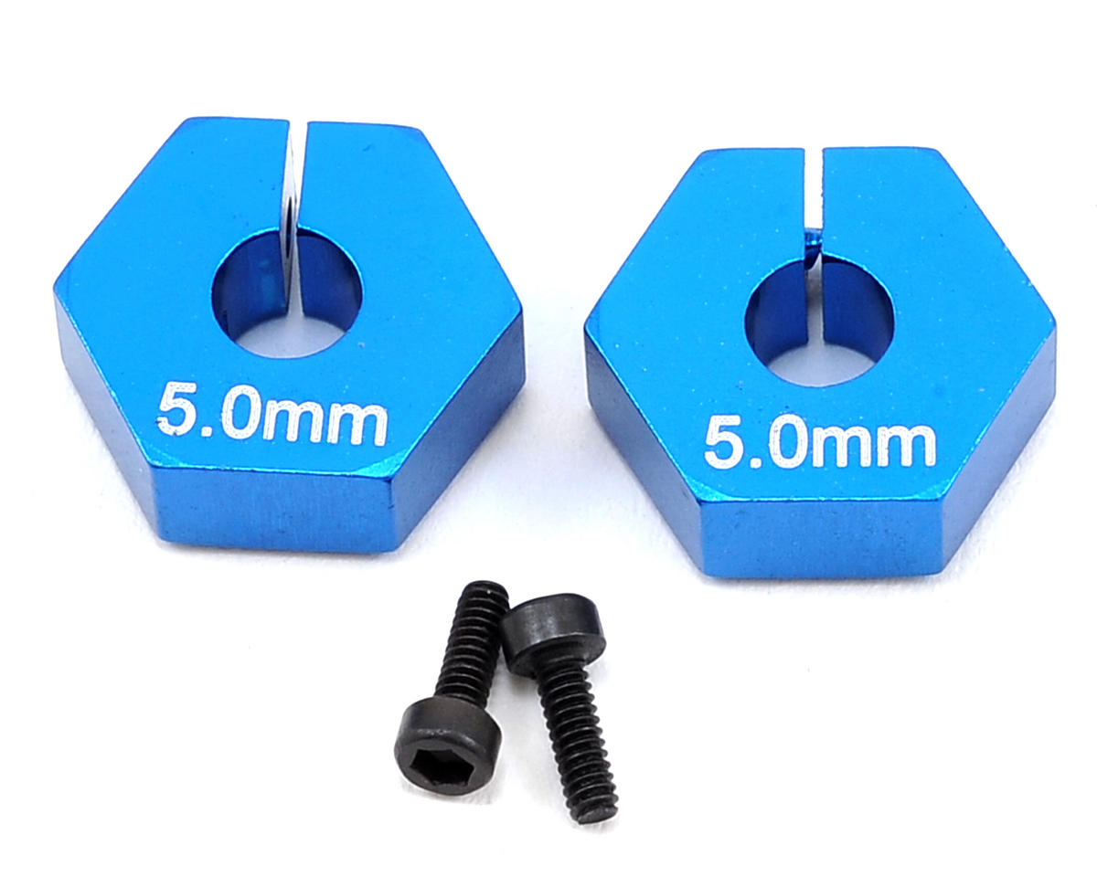 TC7 5.0mm Clamping Wheel Hexes (2) by Team Associated