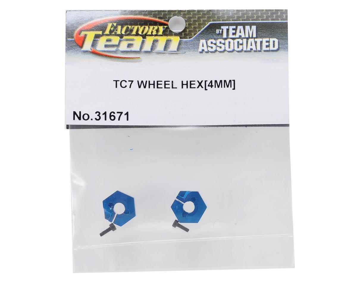 Team Associated 4.0mm Factory Team Aluminum Wheel Hex (2)