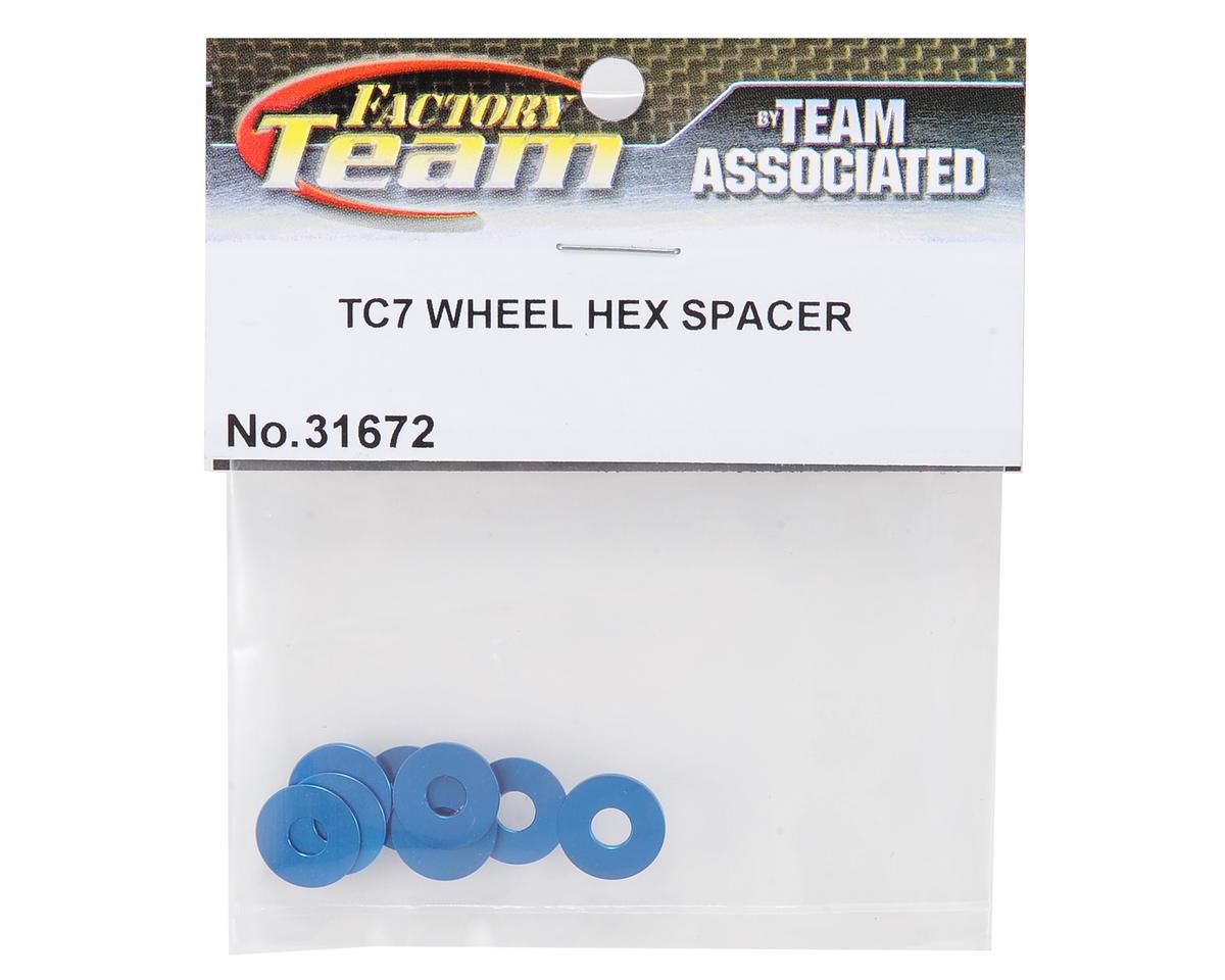 Team Associated Factory Team Wheel Hex Spacer Set (8)