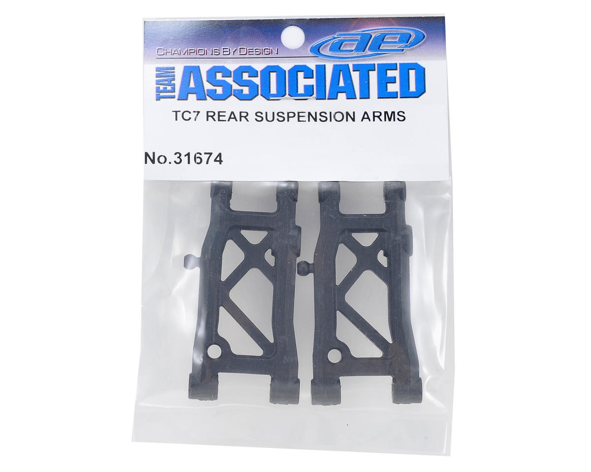 Team Associated TC7 Rear Suspension Arm Set (2)