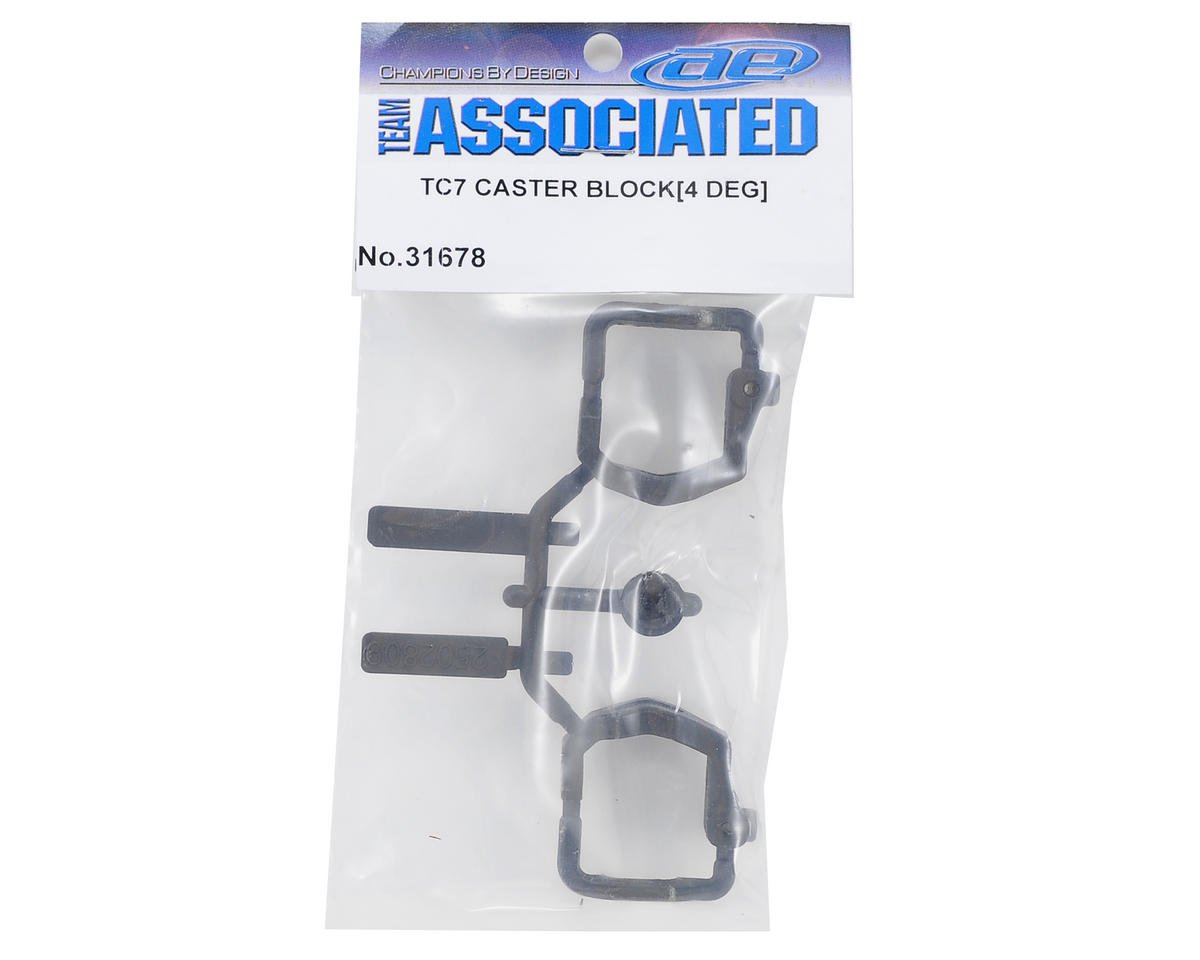 Team Associated TC7 4° Caster Block Set