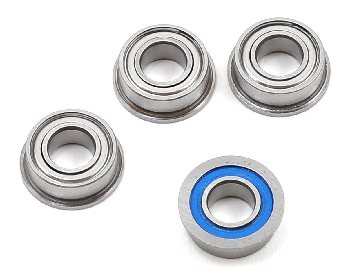 TC7 Factory Team 4x8x3mm Flanged Ball Bearings (4) by Team Associated