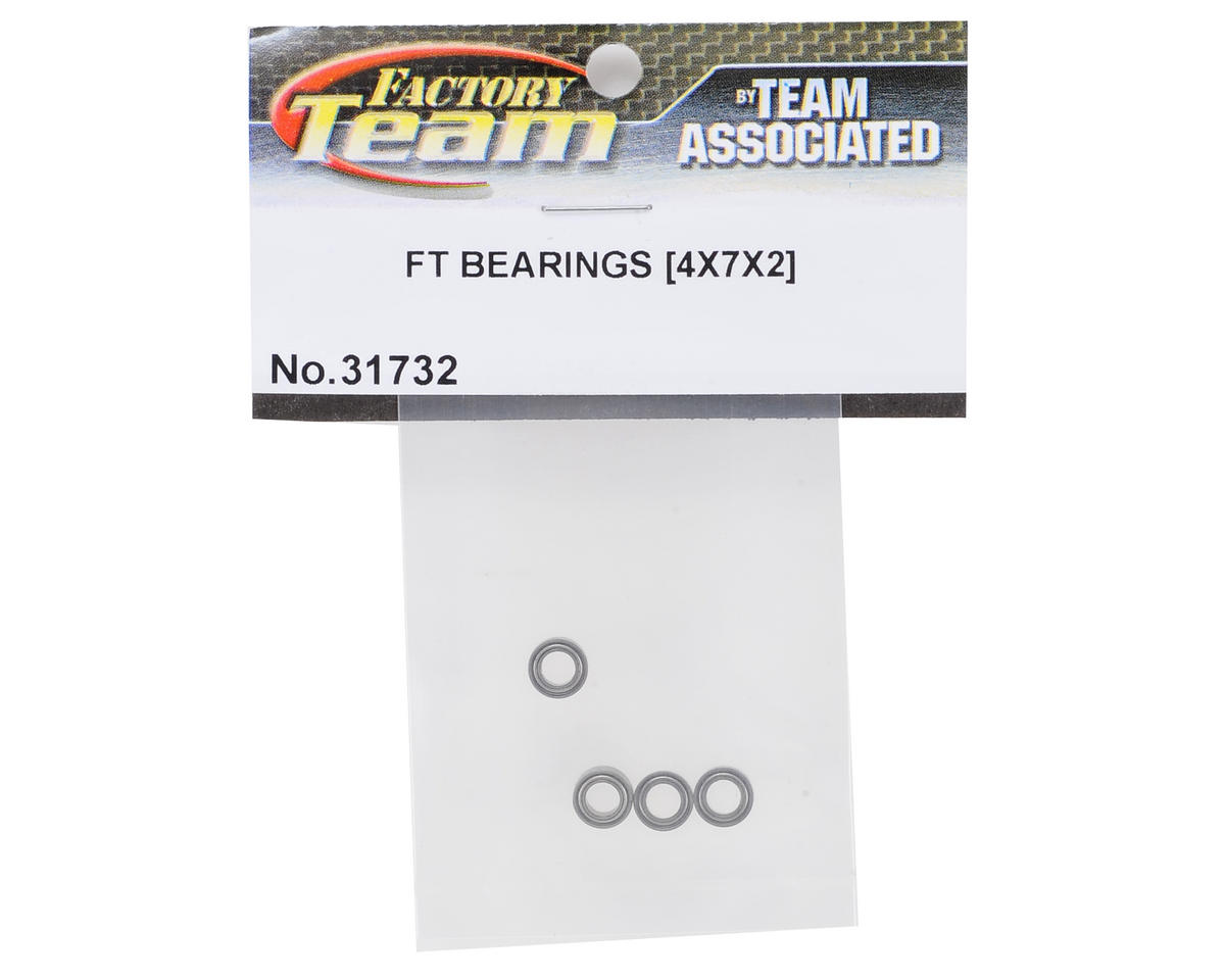 Team Associated TC7 Factory Team 4x7x2.5mm Ball Bearings (4)