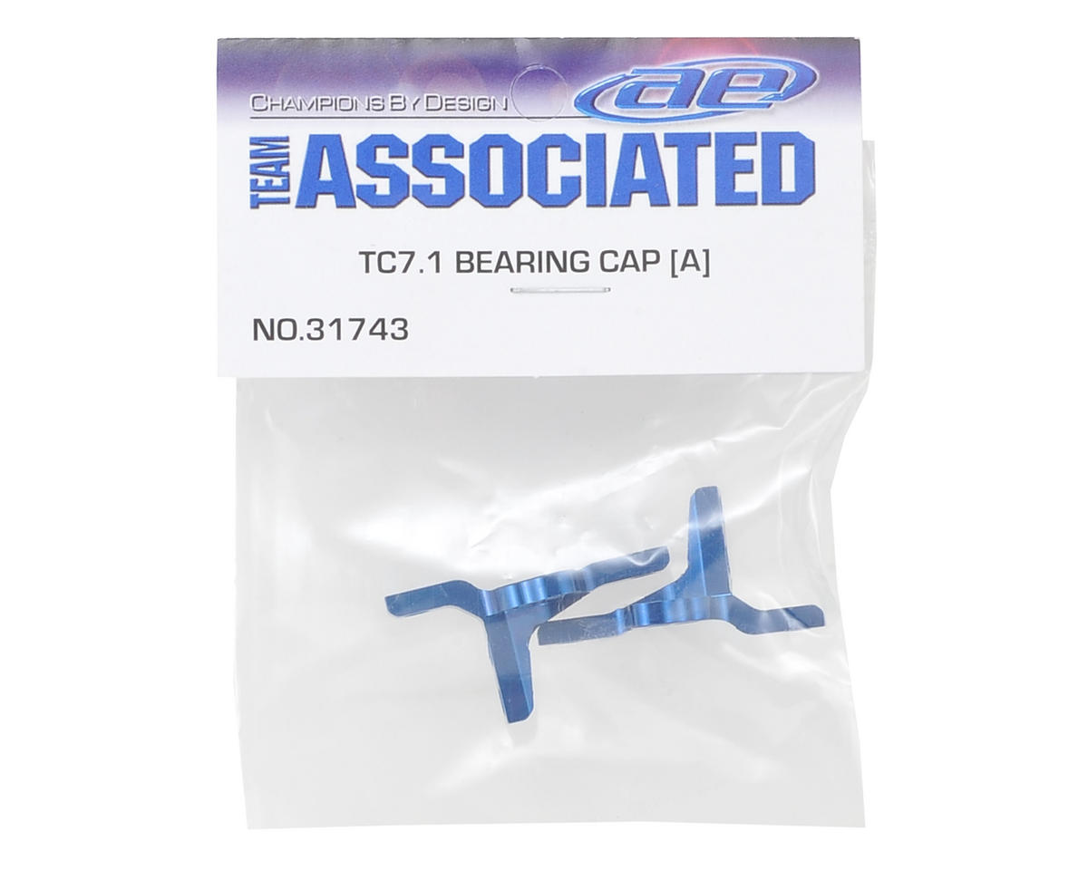 "Team Associated TC7.1 Bearing Caps ""A"" (2)"
