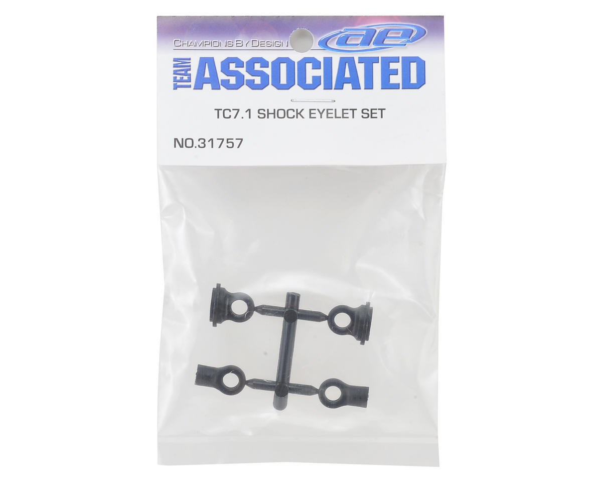 Team Associated TC7.1 Shock Eyelet Set (Short)