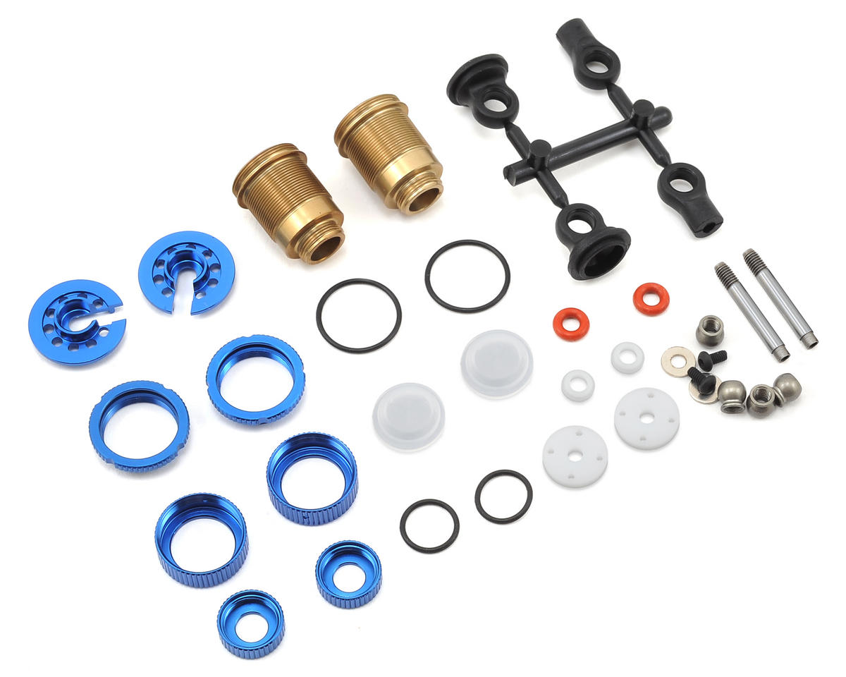 Team Associated TC7.1 Factory Threaded FOX Kashima Shock Kit (Short)