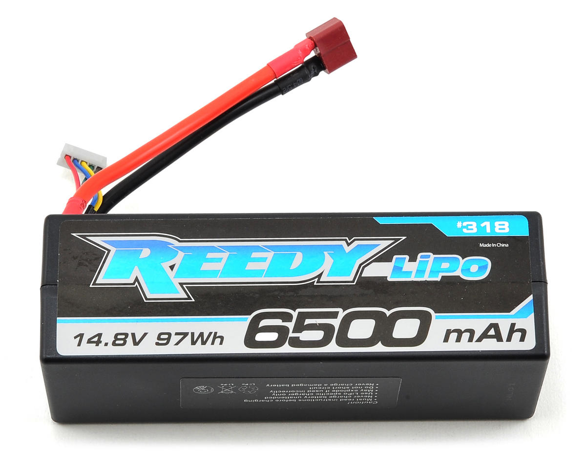 Reedy 4S Hard Case LiPo Battery Pack 65C (14.8V/6500mAh) (Team Associated RC8.2e)