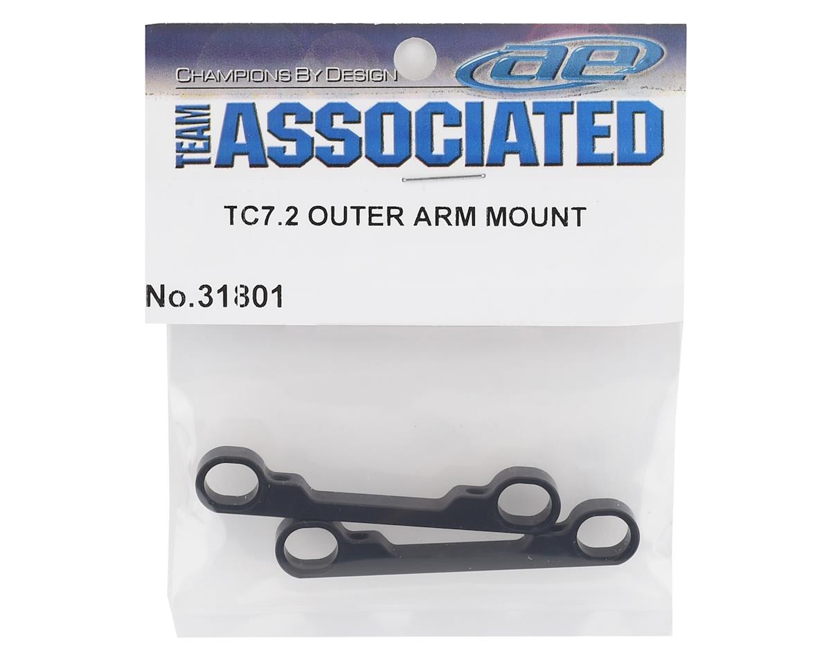 Team Associated TC7.2 Aluminum Outer Arm Mounts