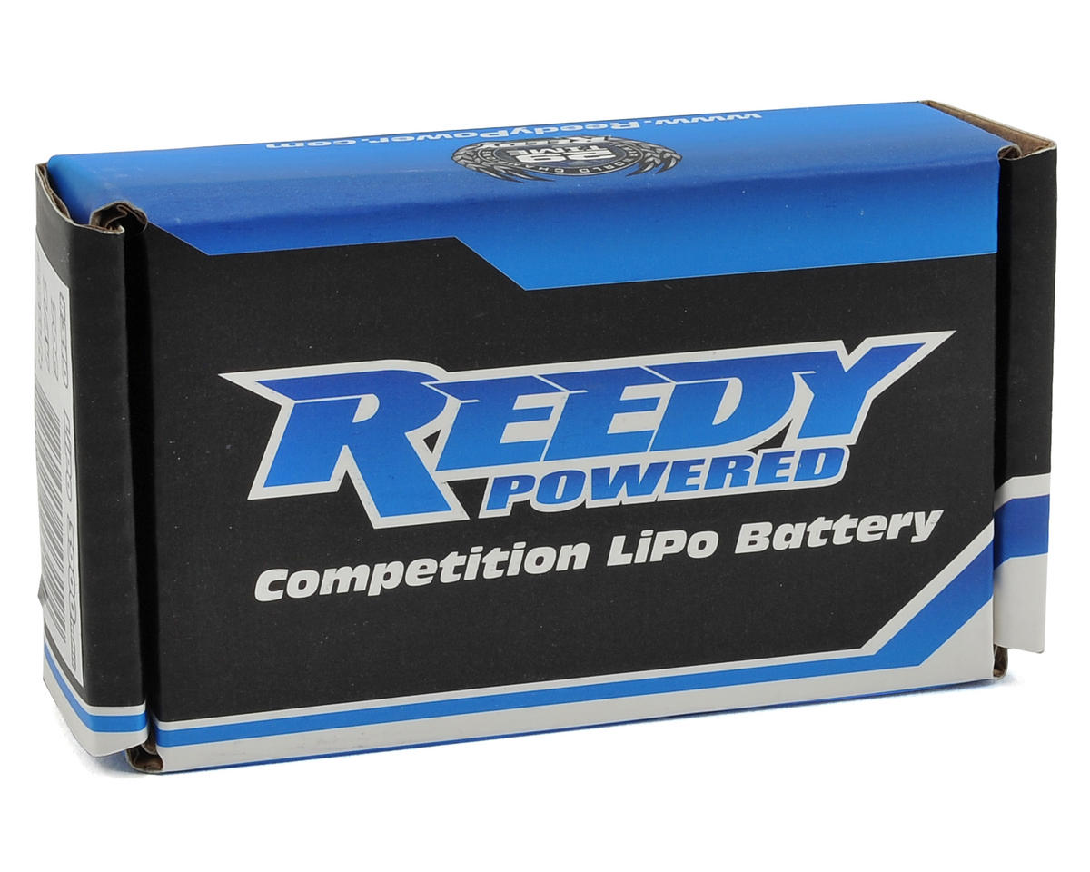 "Reedy ""Low-Profile"" 2S Hard Case LiPo Shorty Battery Pack 70C (7.4V/3900mAh)"