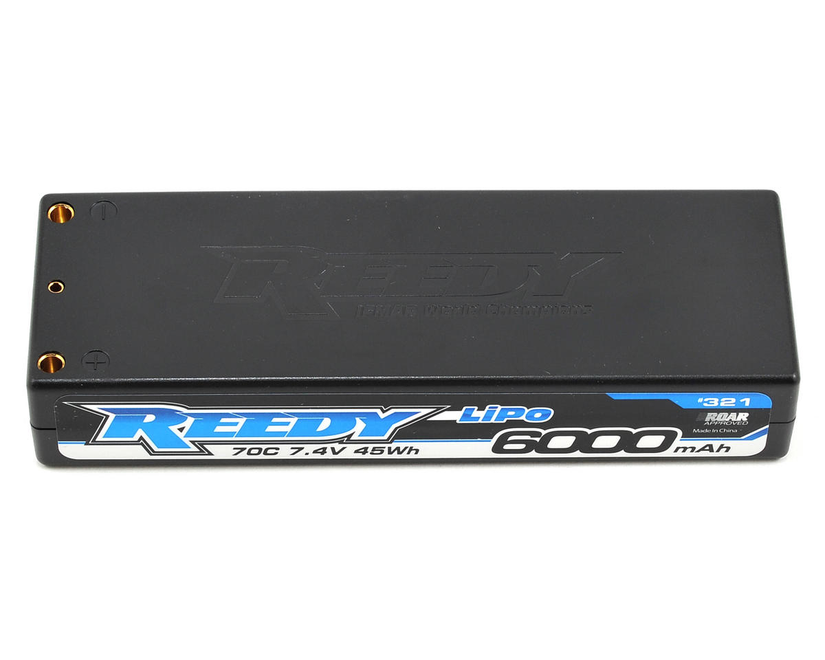 Reedy 2S Hard Case LiPo 70C Competition Battery Pack (7.4V/6000mAh)