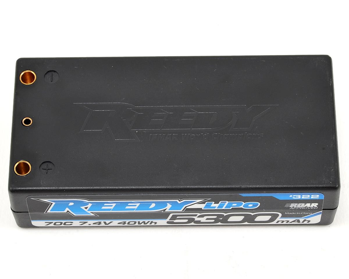 Reedy 2S Hard Case LiPo Shorty 70C Competition Battery Pack (7.4V/5300mAh)