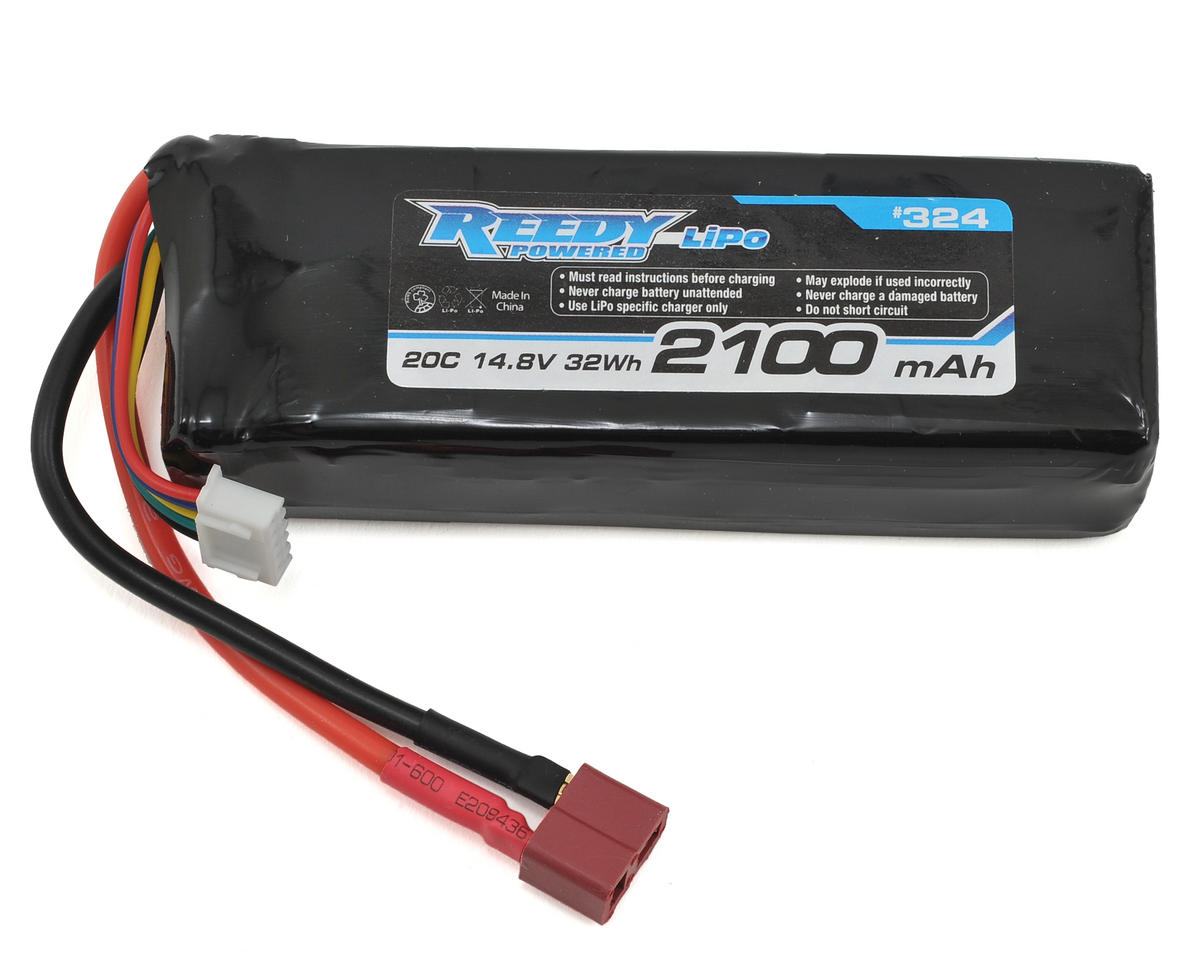 4S Starter Box LiPo Battery 20C (14.8V/2100mAh) by Reedy