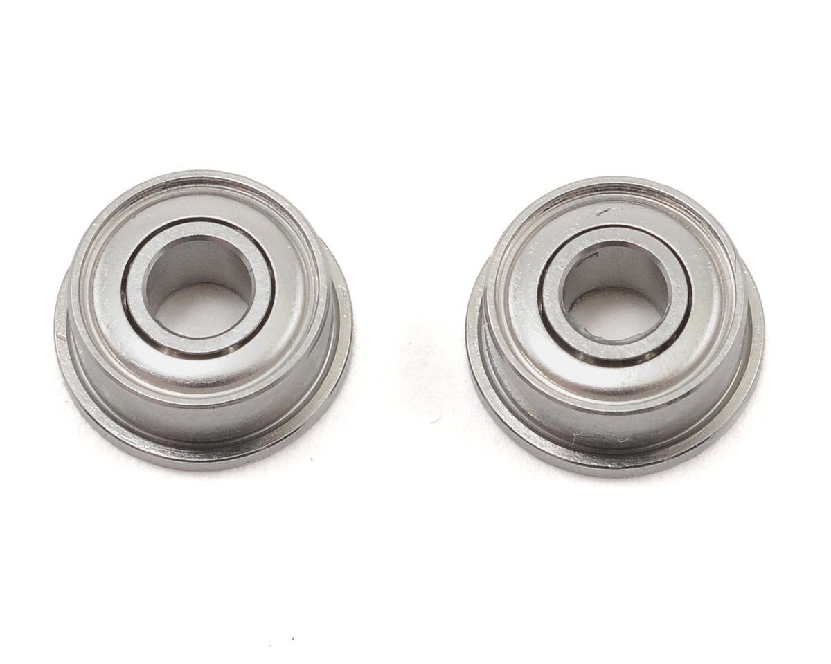 "1/8x5/16x9/64"" Flanged Front Ball Bearings (2) by Team Associated"