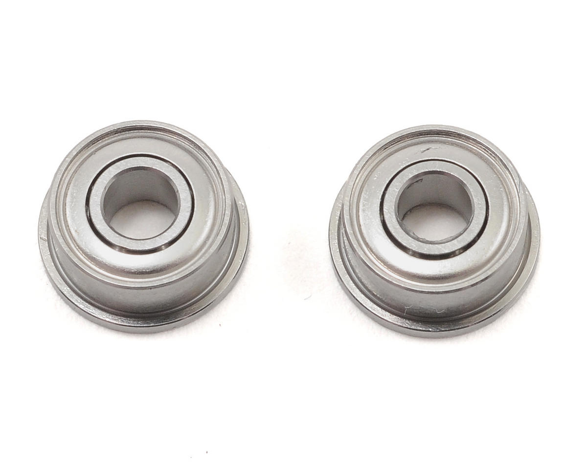"Team Associated 1/8x5/16x9/64"" Flanged Front Ball Bearings (2)"