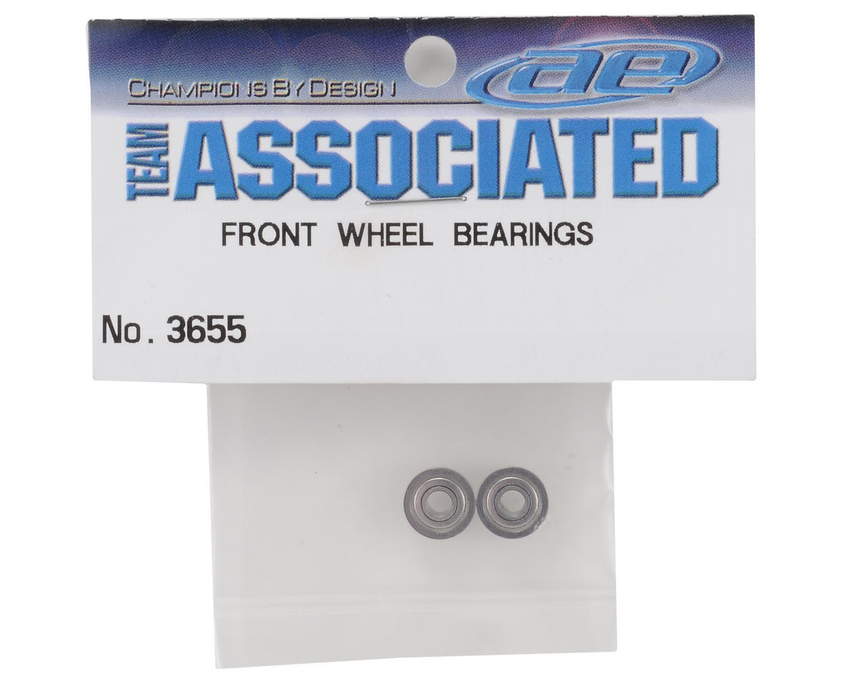 """1/8x5/16x9/64"""" Flanged Front Ball Bearings (2) by Team Associated"""