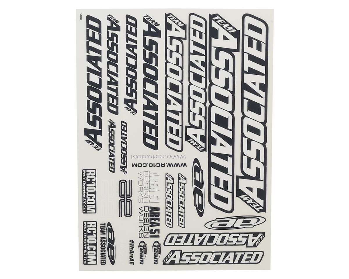 2016 Team Associated Decal Sheet by Team Associated