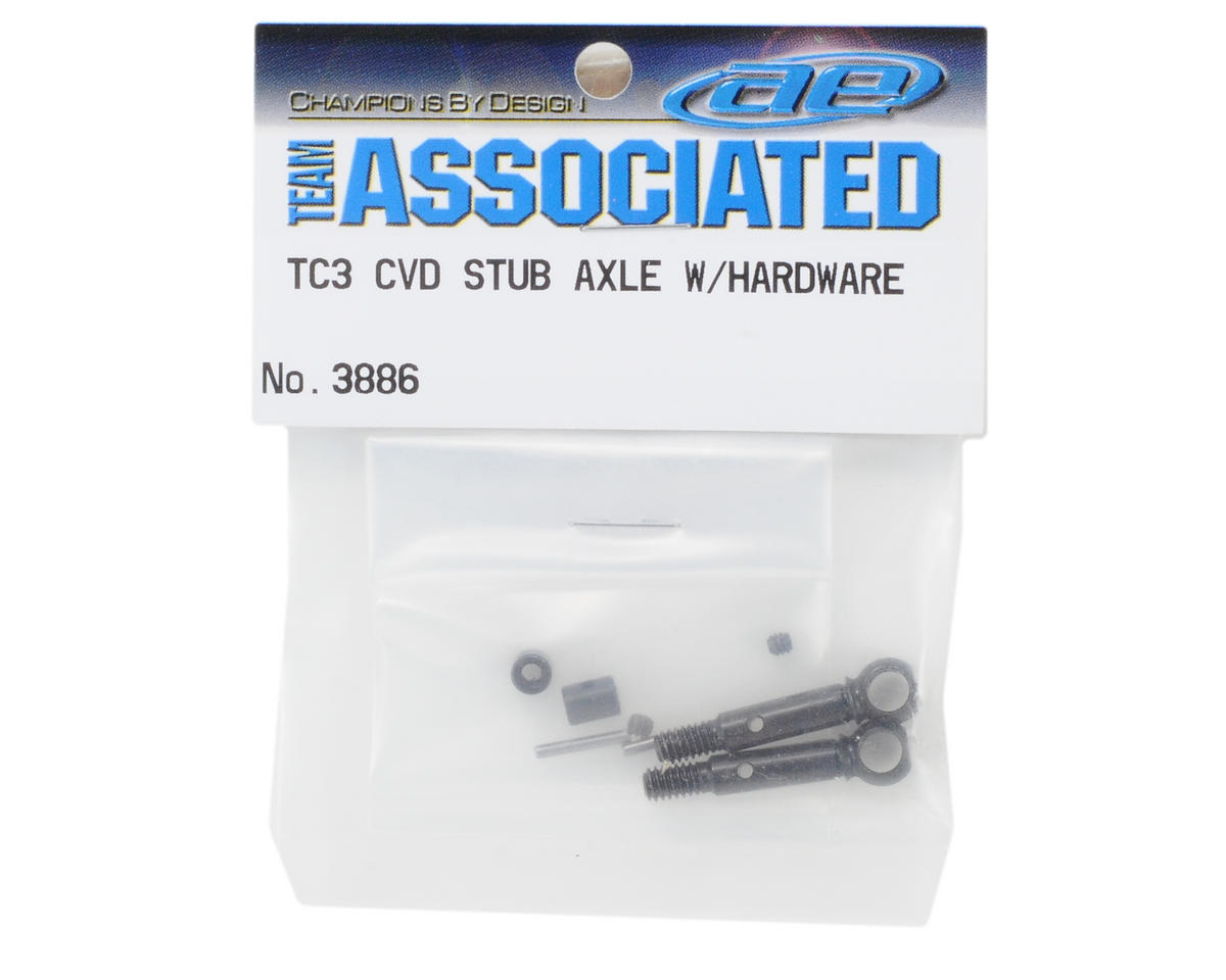 Team Associated CVD Stub Axle w/Hardware