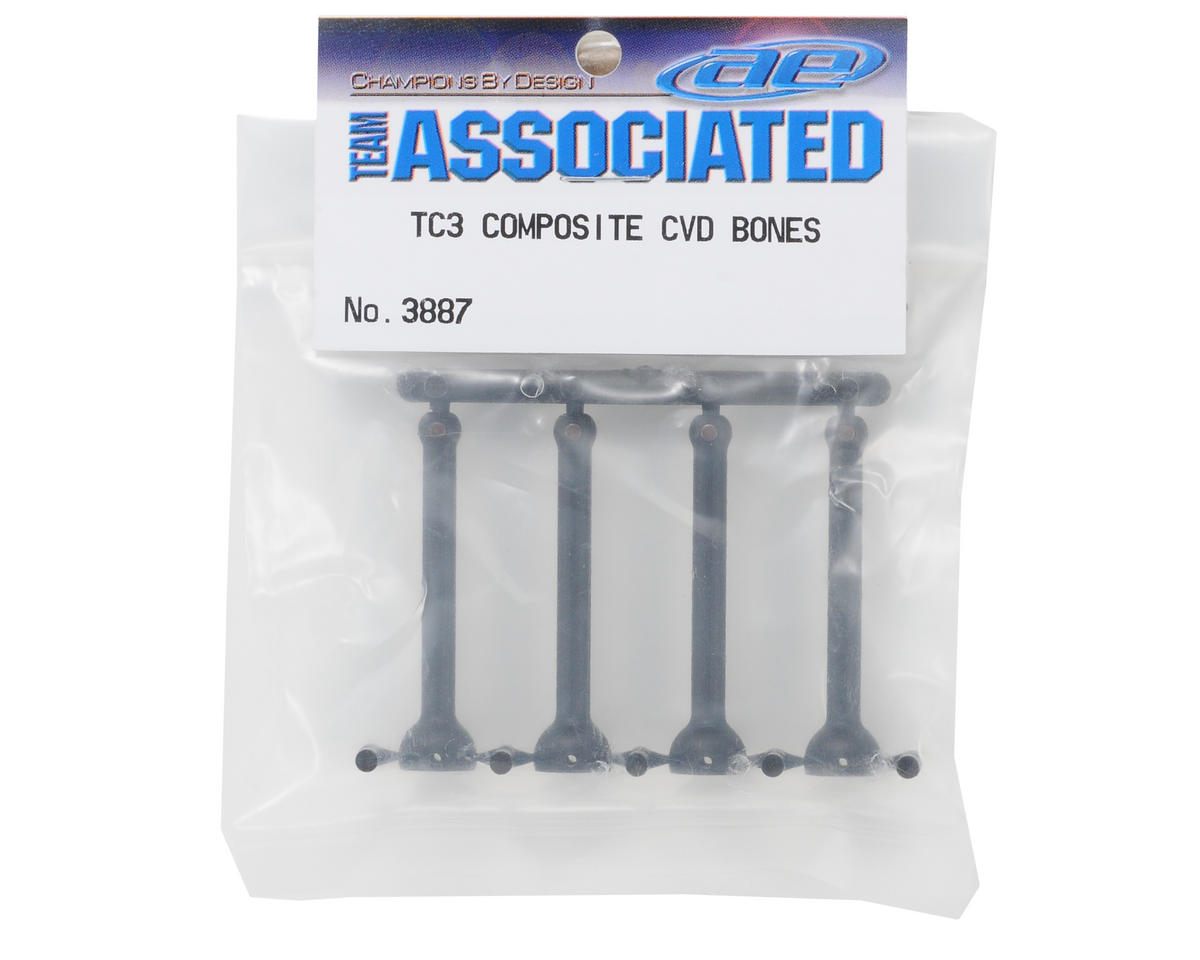 Composite CVD Bones (4) by Team Associated