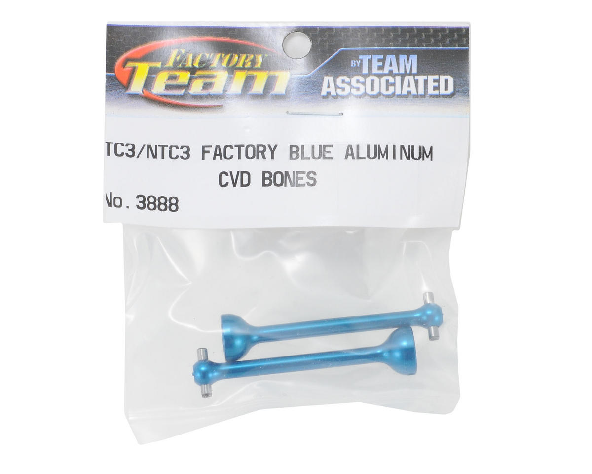 Team Associated Aluminum CVD Bone (Blue) (2)