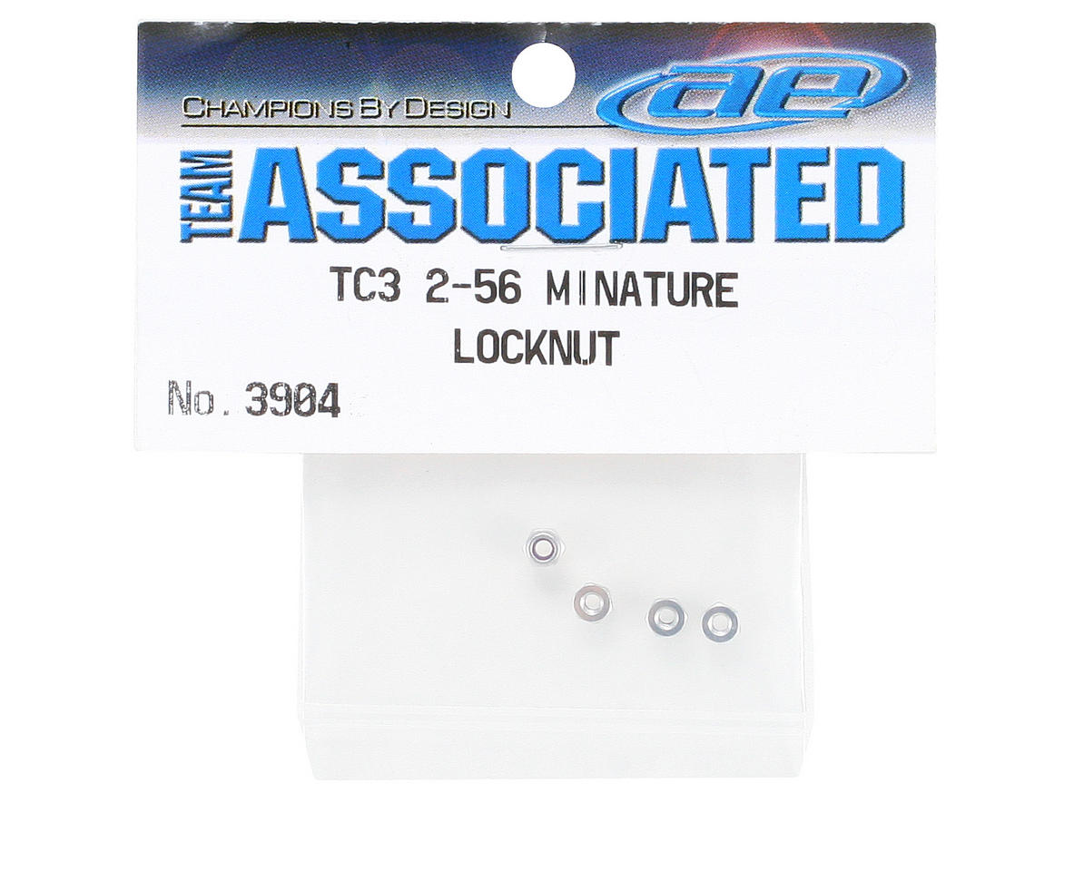 Team Associated 2-56 Miniature Locknut (4)