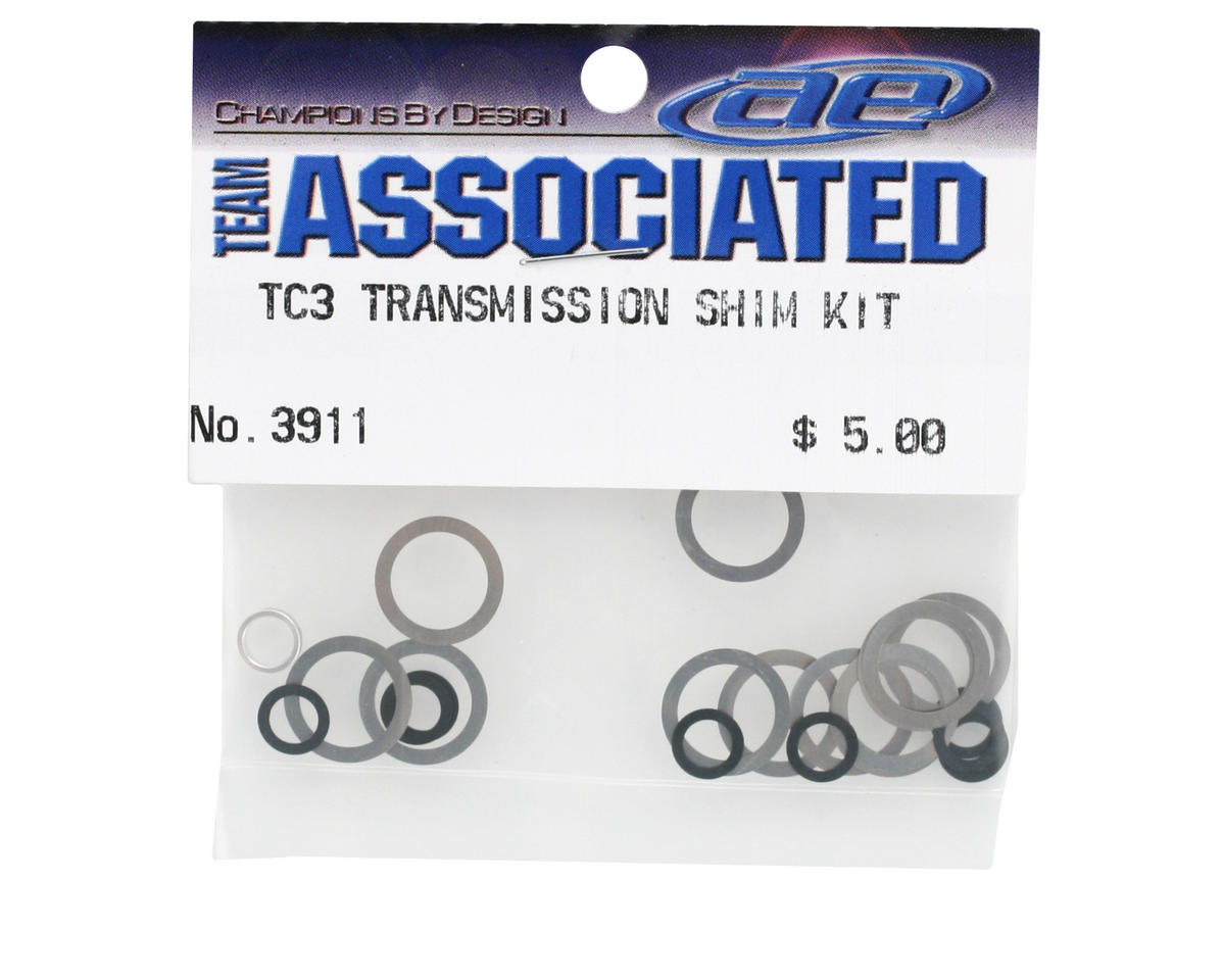 Team Associated Transmission Shim Set
