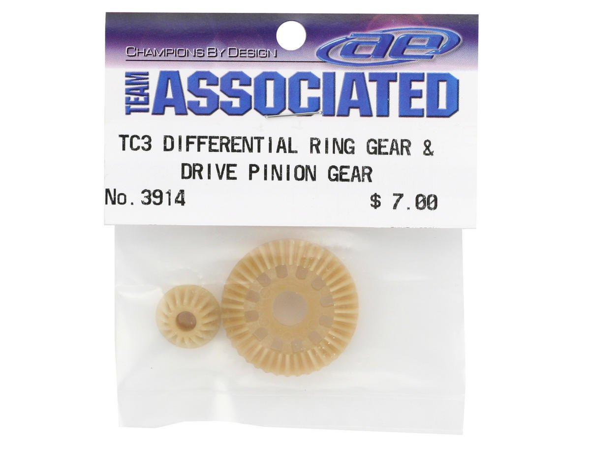 Team Associated Differential Ring Gear & Drive Pinion Gear