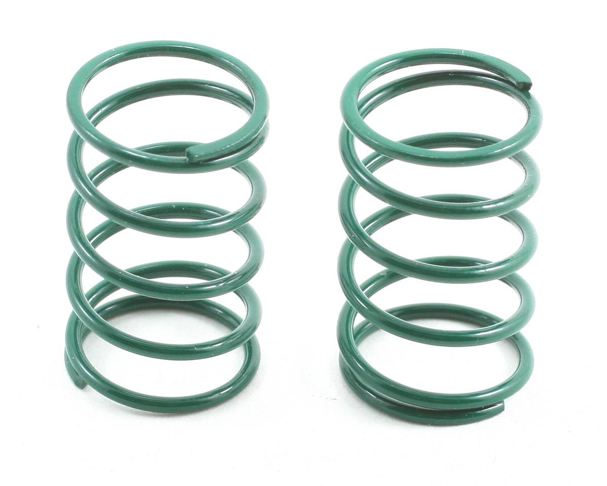 Team Associated TC3 Sedan Shock Spring Set (Green - 12lb) (2)