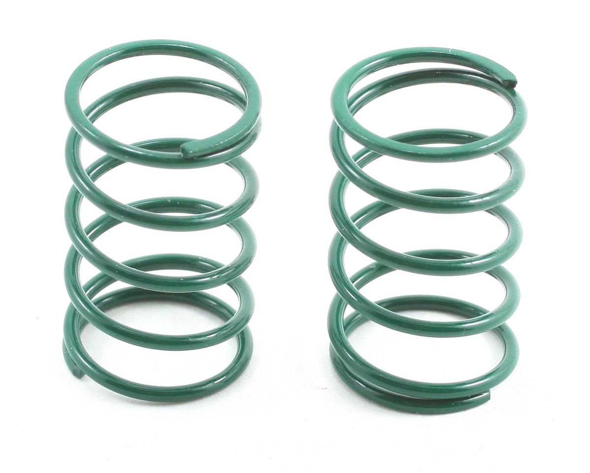 Team Associated Sedan Shock Spring Set (Green - 12lb) (2)