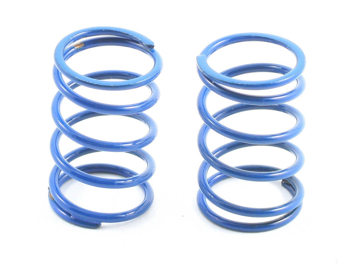 Team Associated TC4 Sedan Shock Spring Set (Blue - 17lb) (2)