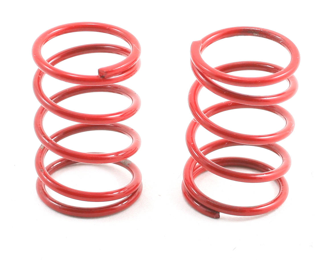 Team Associated Sedan Shock Spring Set (Red - 22lb) (2)