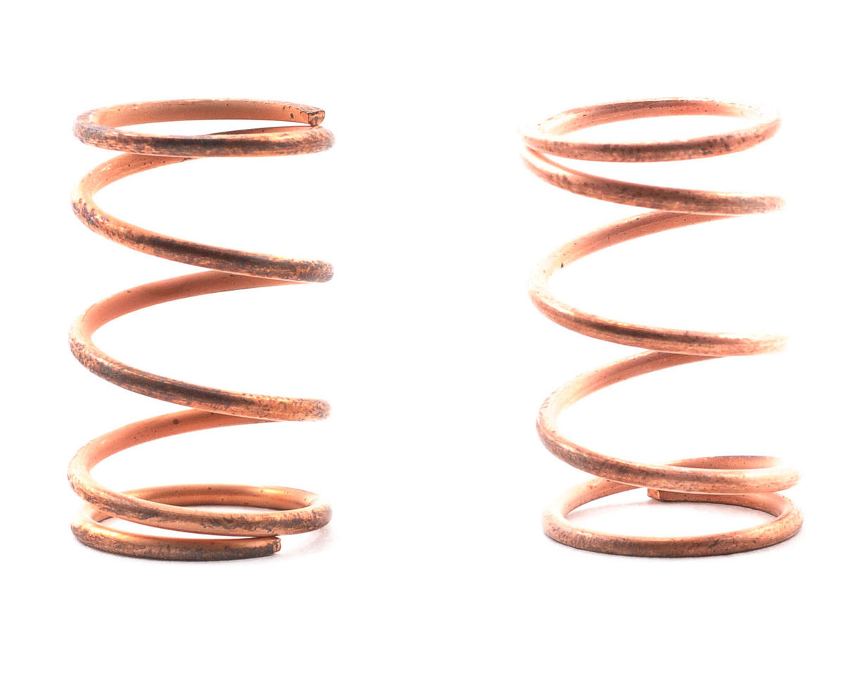 Sedan Shock Spring Set (Copper - 25lb) (2) by Team Associated