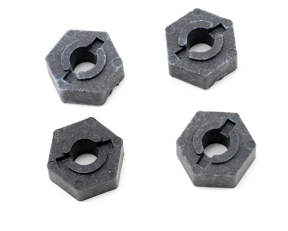 Team Associated Graphite Factory Team Wheel Hex Adaptor (4)
