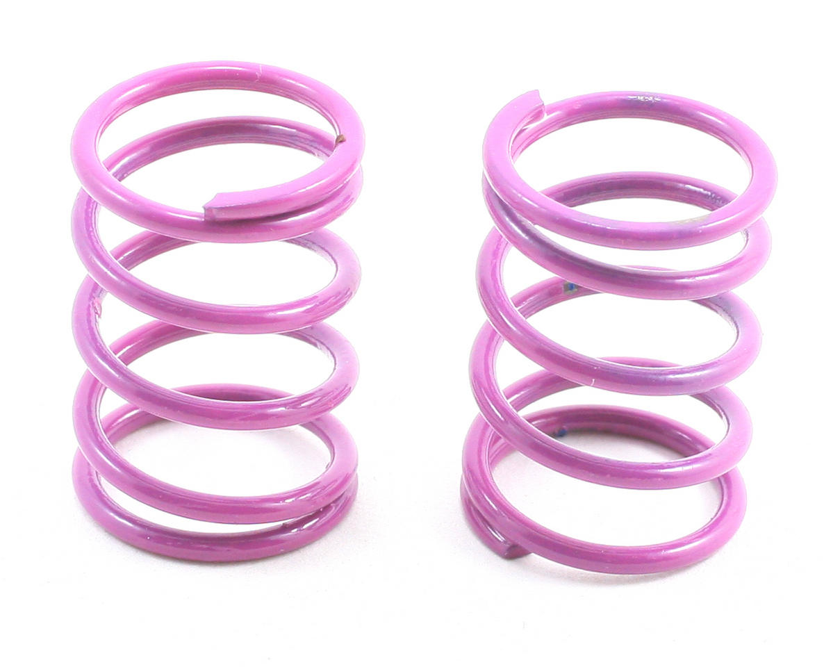 Team Associated TC4 Sedan Shock Spring Set (Purple - 30 lbs) (2)