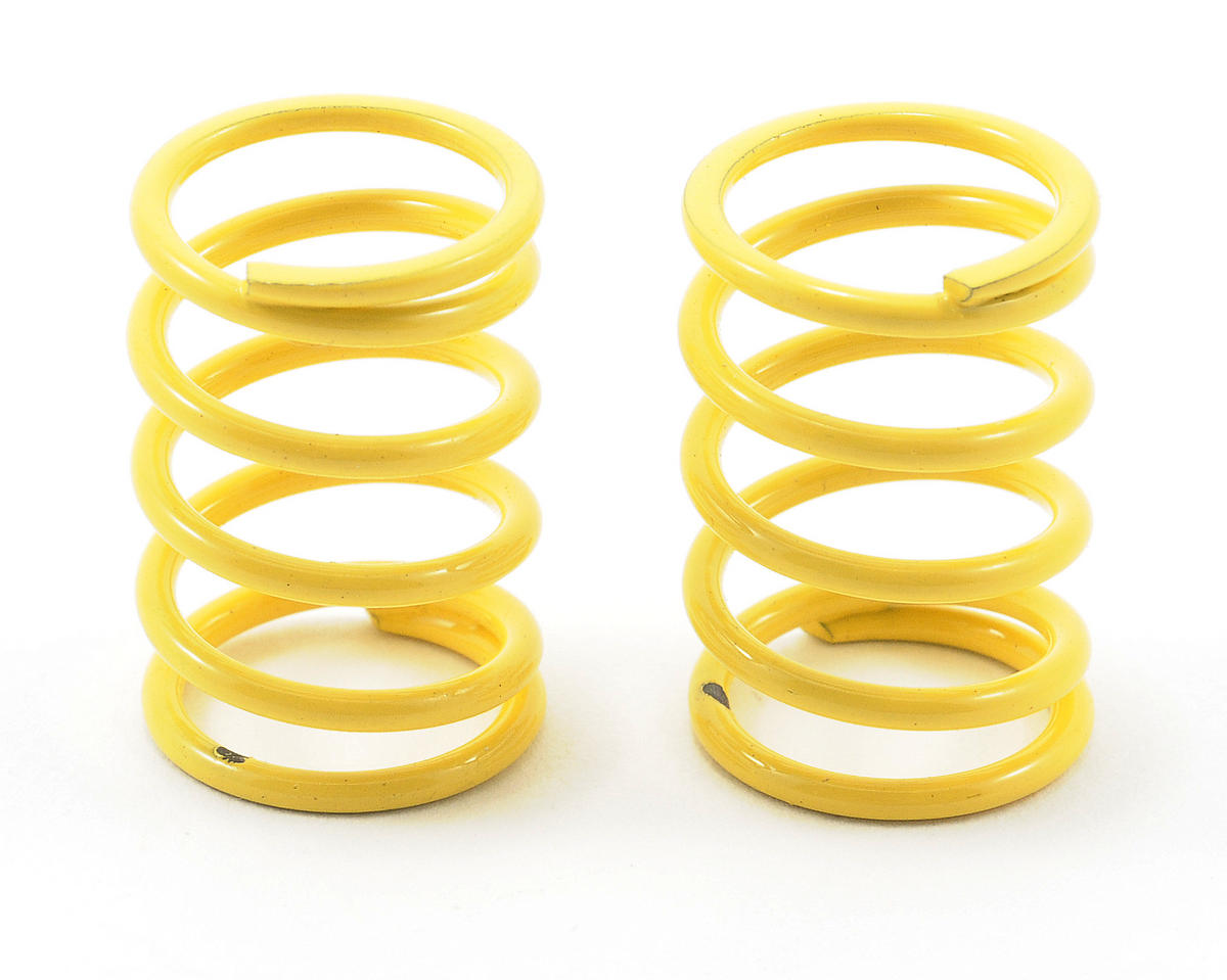 Team Associated Sedan Shock Spring Set (Yellow - 35 lbs) (2)