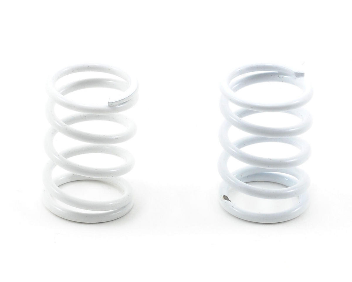 Team Associated Sedan Shock Spring Set (White - 40 lbs) (2)