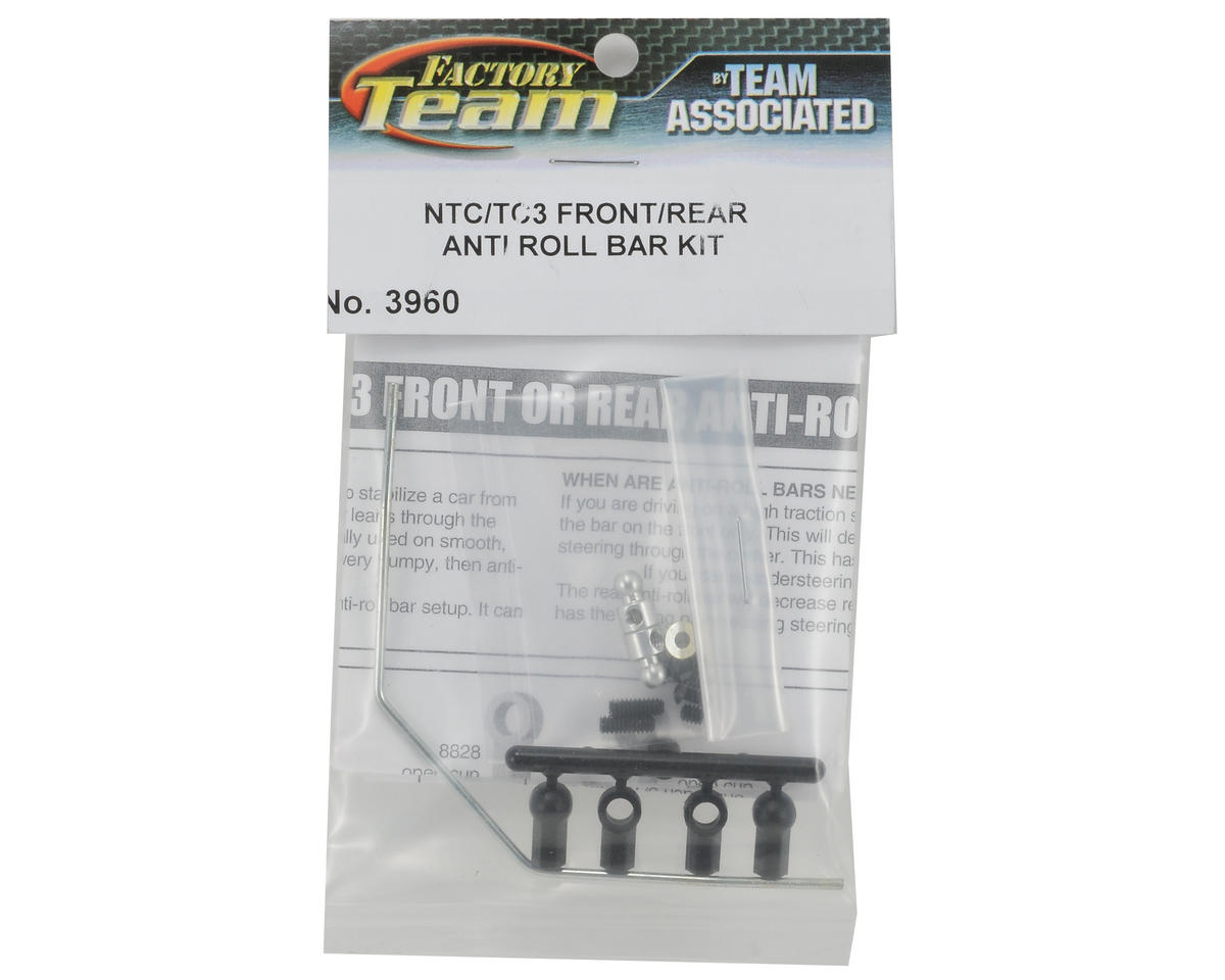 Front/Rear Anti-Roll Bar Kit by Team Associated