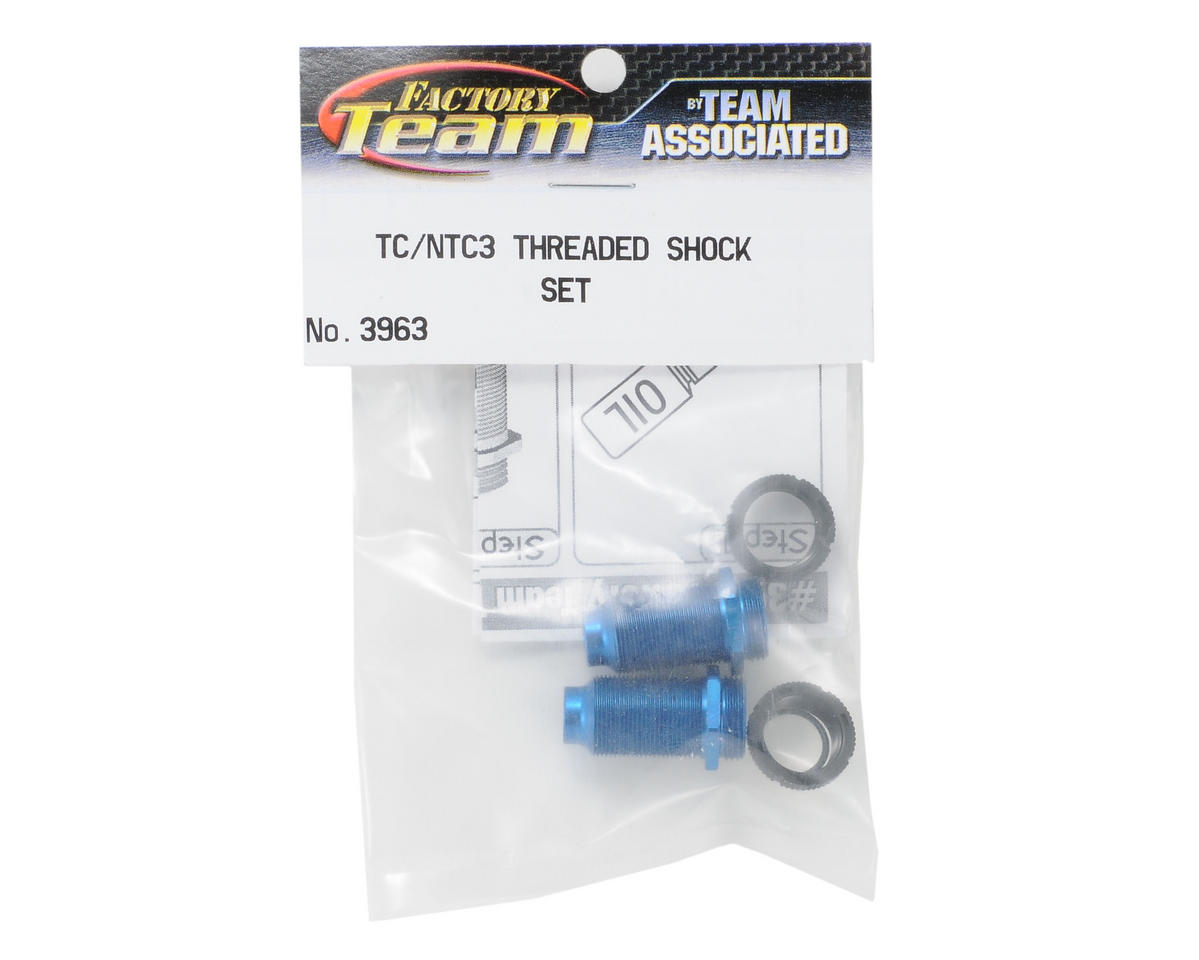 Team Associated Threaded Shock Body & Collar Set (2)