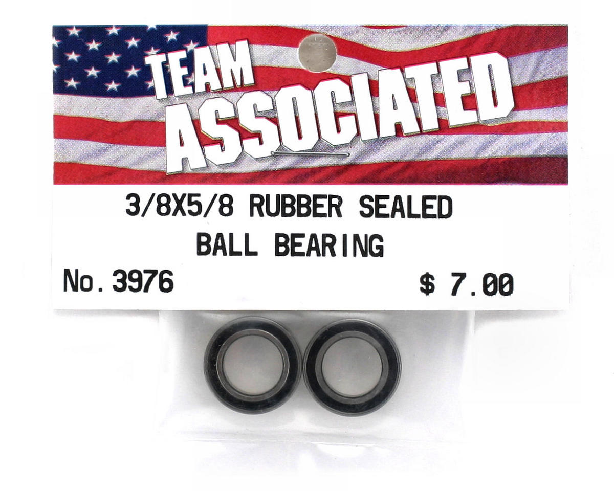 "Team Associated 3/8 x 5/8"" Rubber Sealed Bearing (2)"