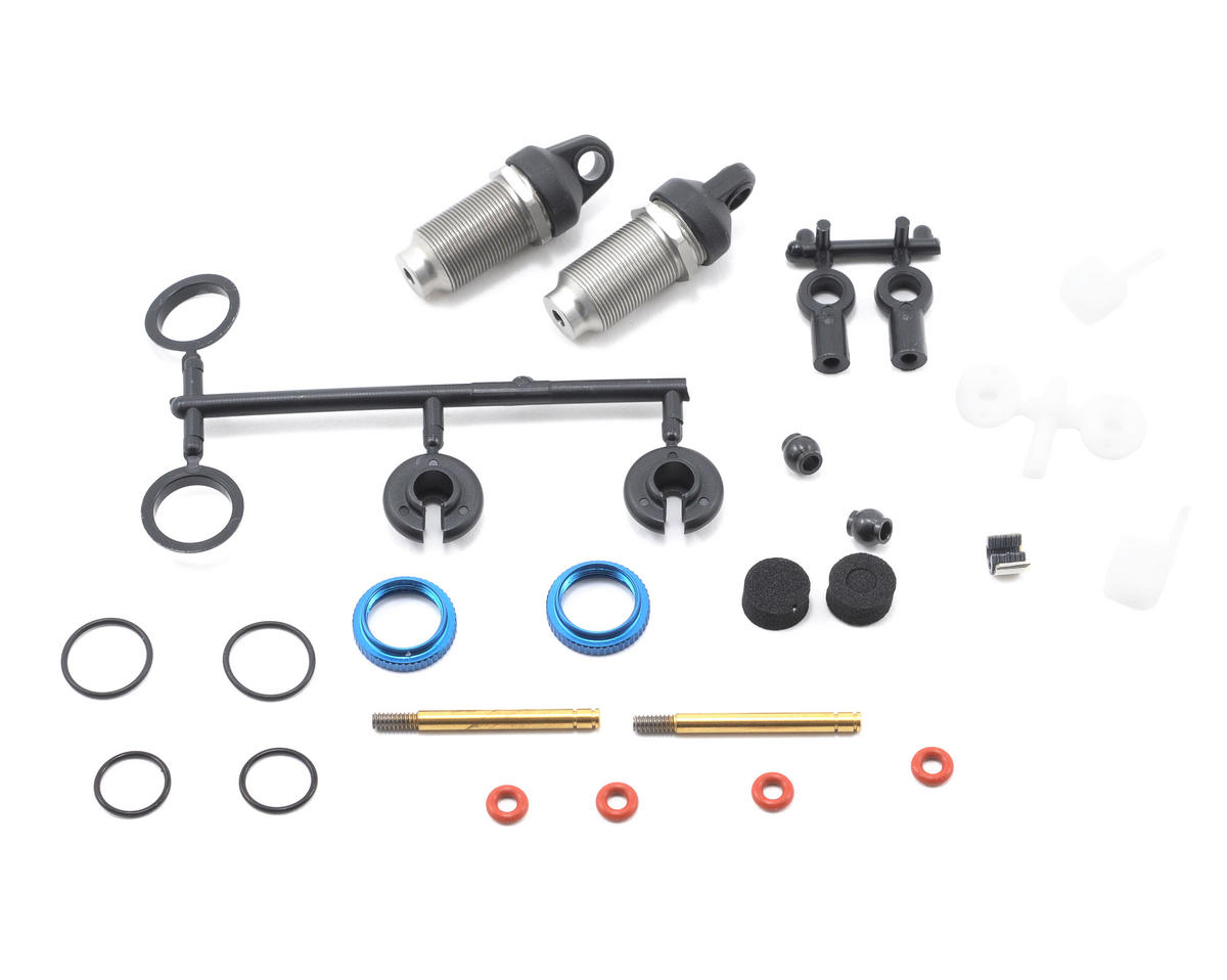 Team Associated Threaded Shock Kit (2) (TC3/NTC3)