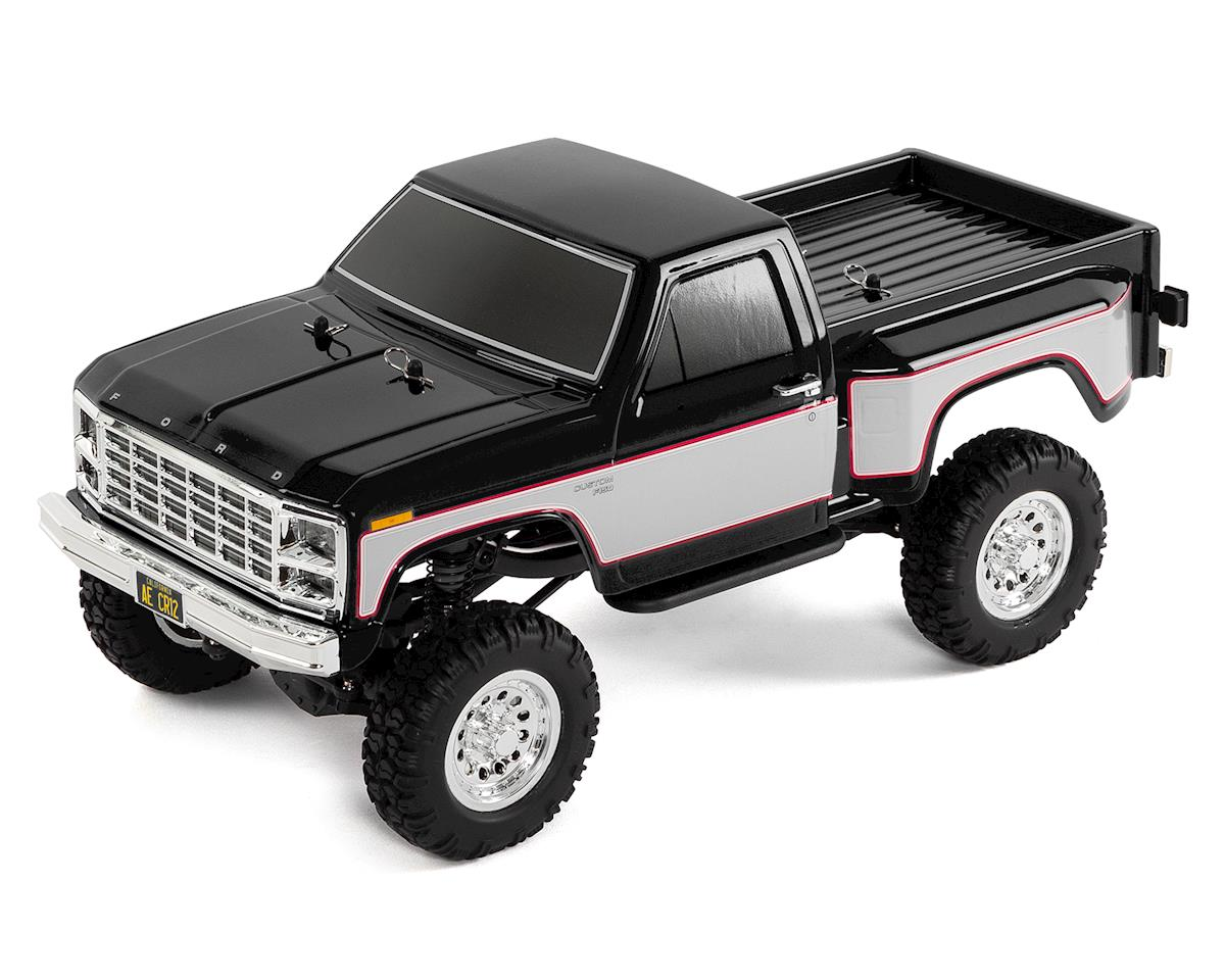 Team Associated CR12 Ford F-150 Truck RTR 1/12 4WD Rock Crawler (Black)