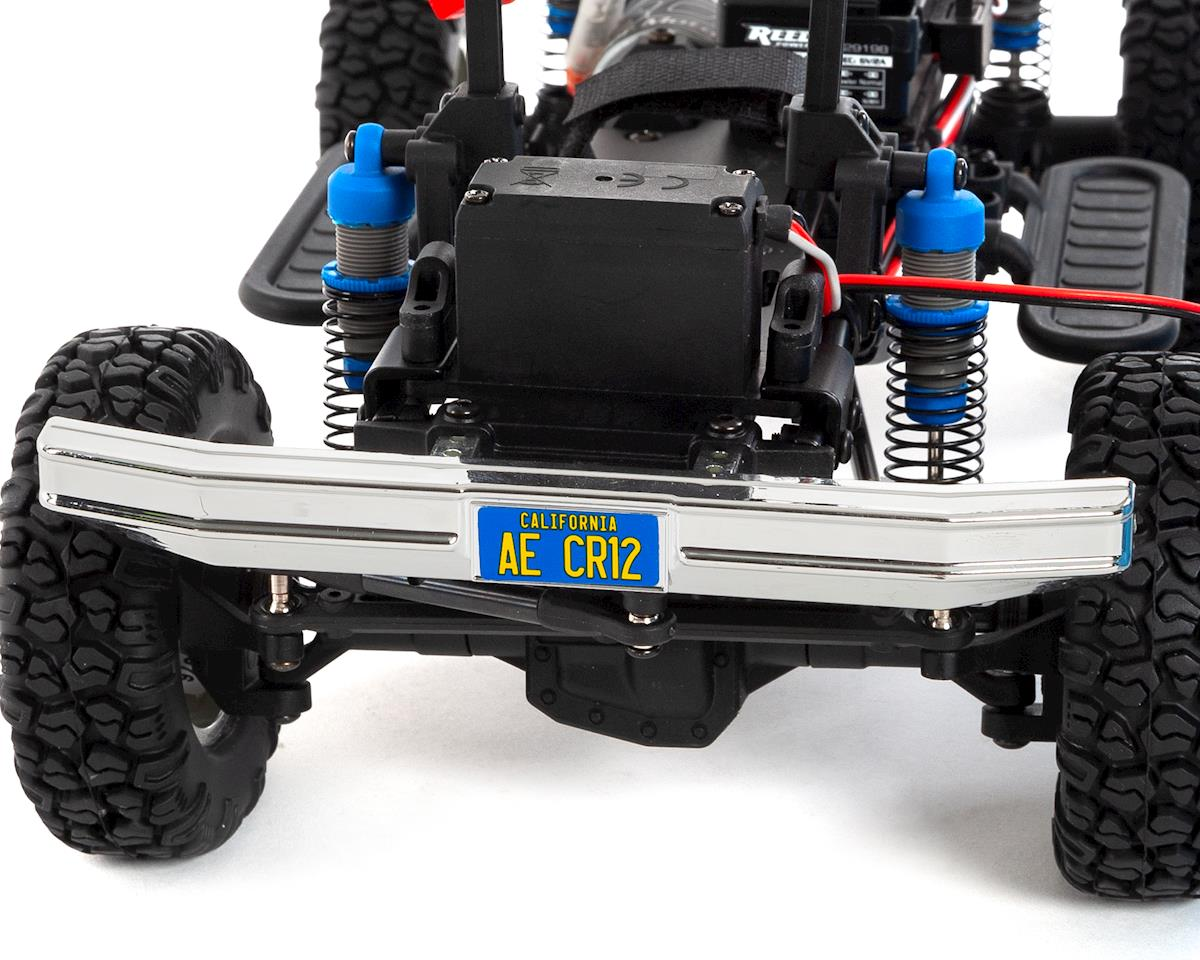 Team Associated Cr12 Ford F 150 Truck Rtr 1 12 4wd Rock Crawler 1980 Radio Wiring Blue W 24ghz Battery Charger