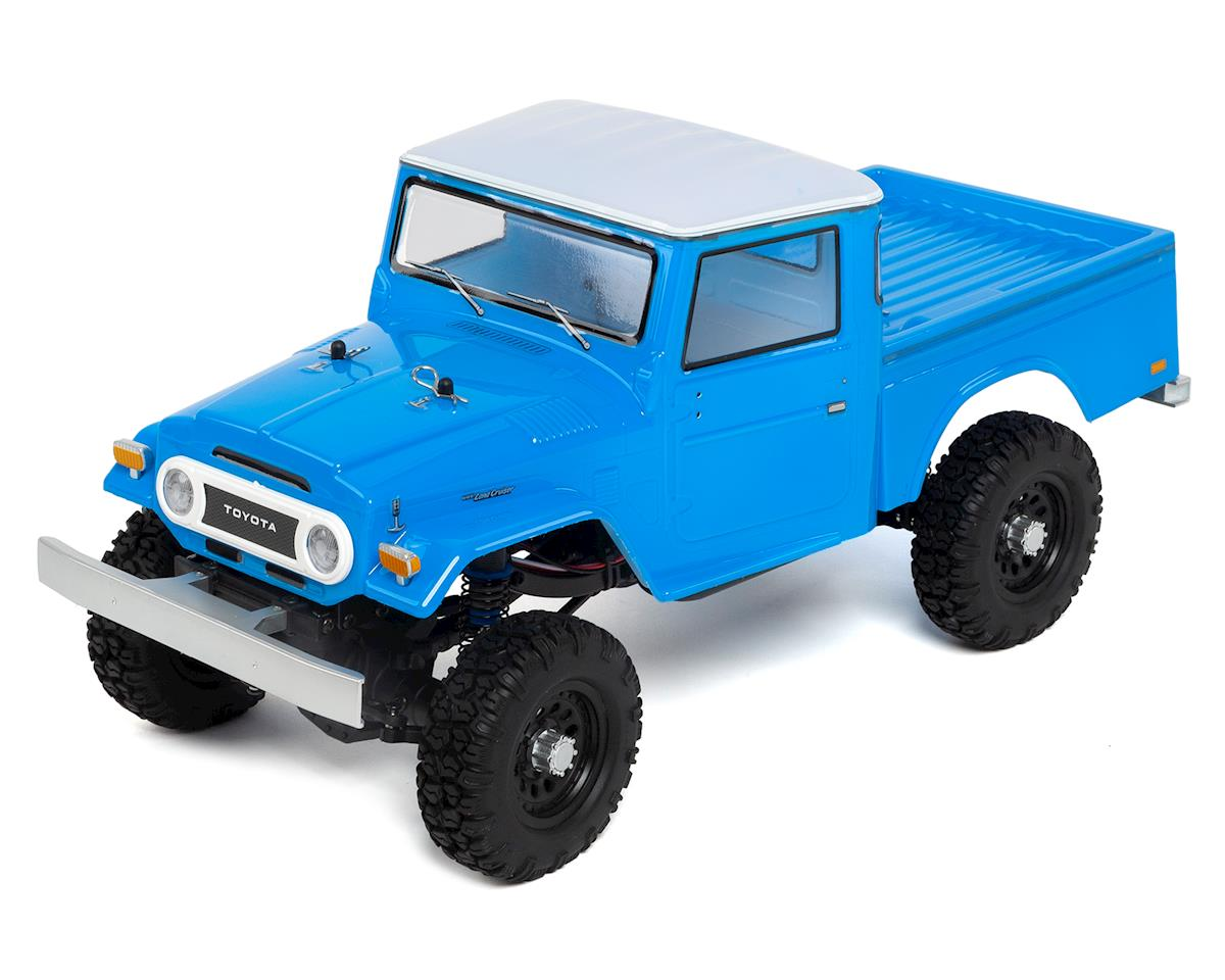 Team Associated CR12 Toyota FJ45 Truck RTR 1/12 4WD Rock Crawler (Blue)